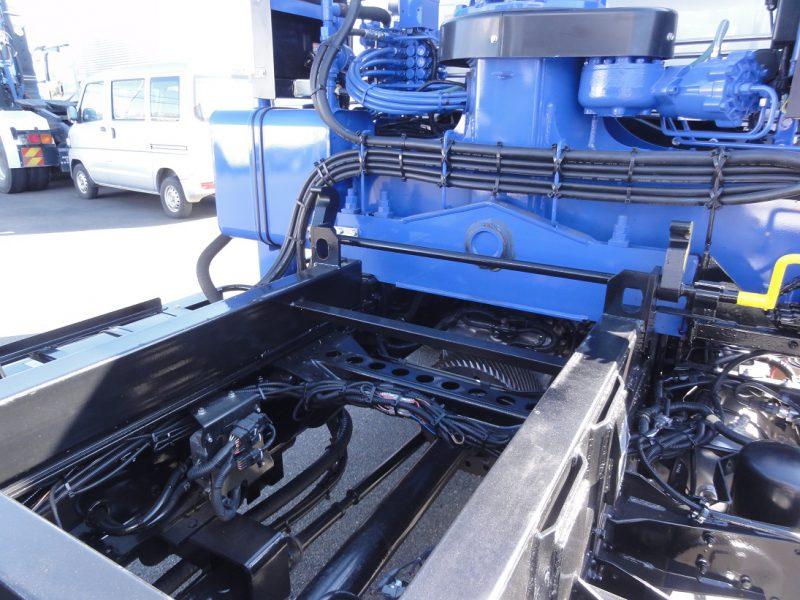 日野 大型トラック 4段クレーン付セフティー 画像