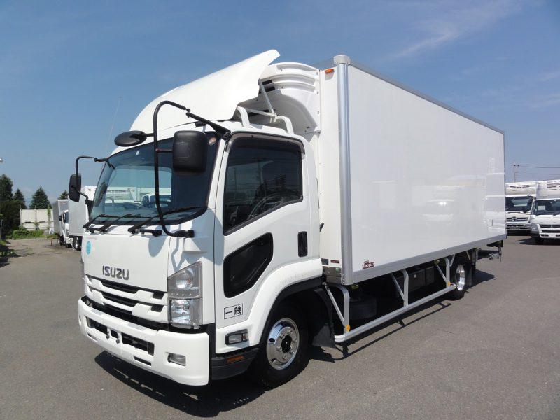 いすゞ 中型トラック 冷凍車ワイド格納PG付(キーストン) 画像