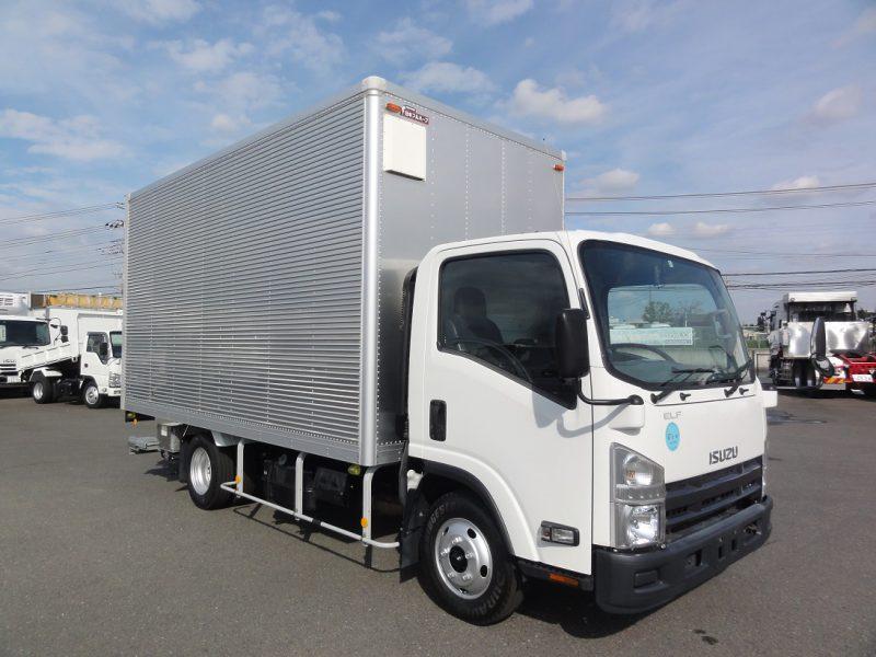 いすゞ 小型トラック ドライバン格納PG付 画像
