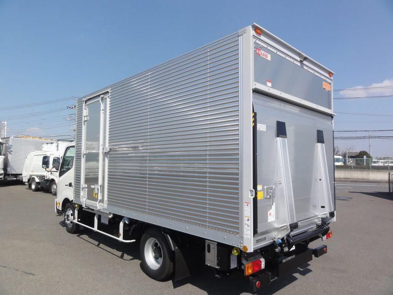 日野 小型トラック ドライバンPG付はね上げ(ワイド・ロング) 画像