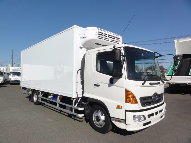 いすゞ 中型トラック 冷凍車エアサス格納PG付(スタンバイ) 画像
