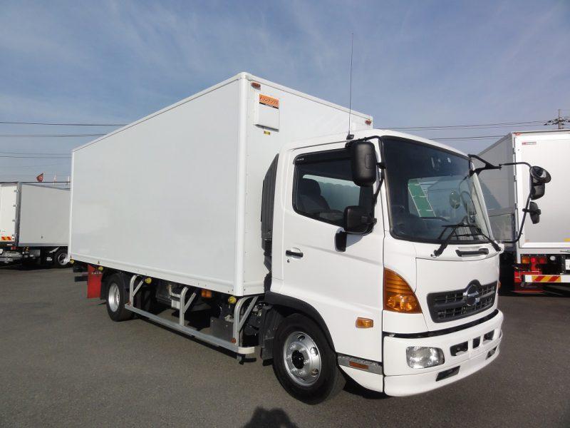 日野 中型トラック 保冷バンPG付はね上げ 画像