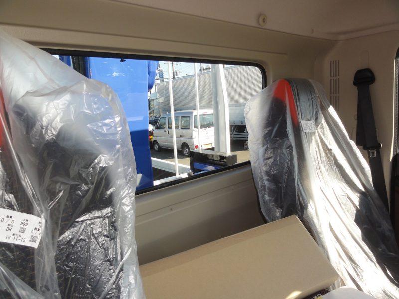 日野 大型トラック 4段ラジコン付(7.4t)5.5m 画像