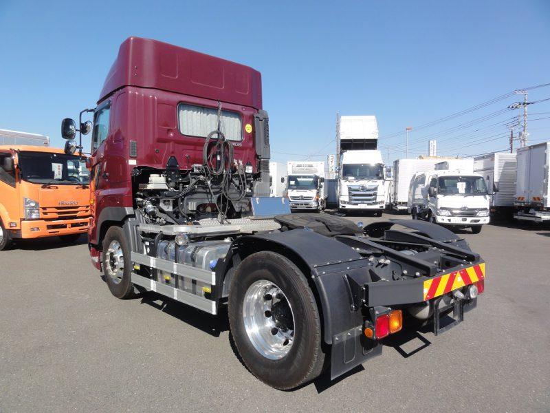 日野 大型トラック トラクタエアサスハイルーフ 画像