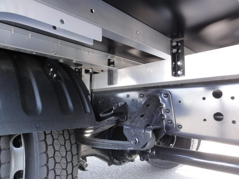 日野 中型トラック ドライバンワイドはね上げPG付 画像
