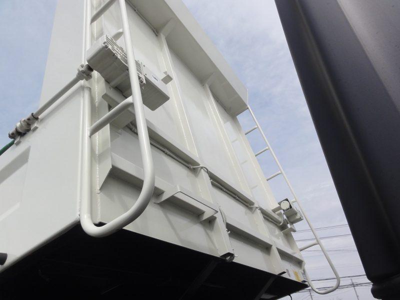 日野 大型トラック ダンプ(土砂)Lゲートハイルーフ 画像