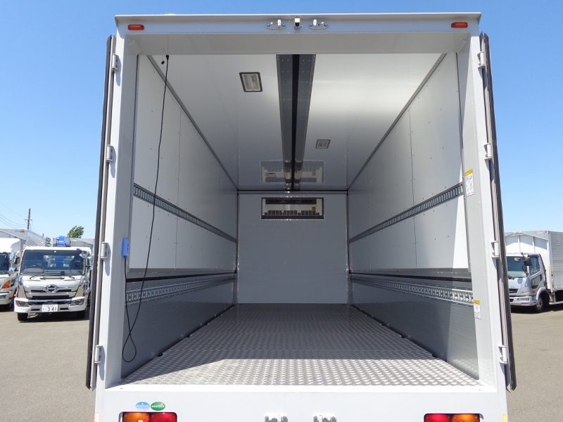 日野 中型トラック 冷凍ウィングワイドエアサス格納PG付 画像