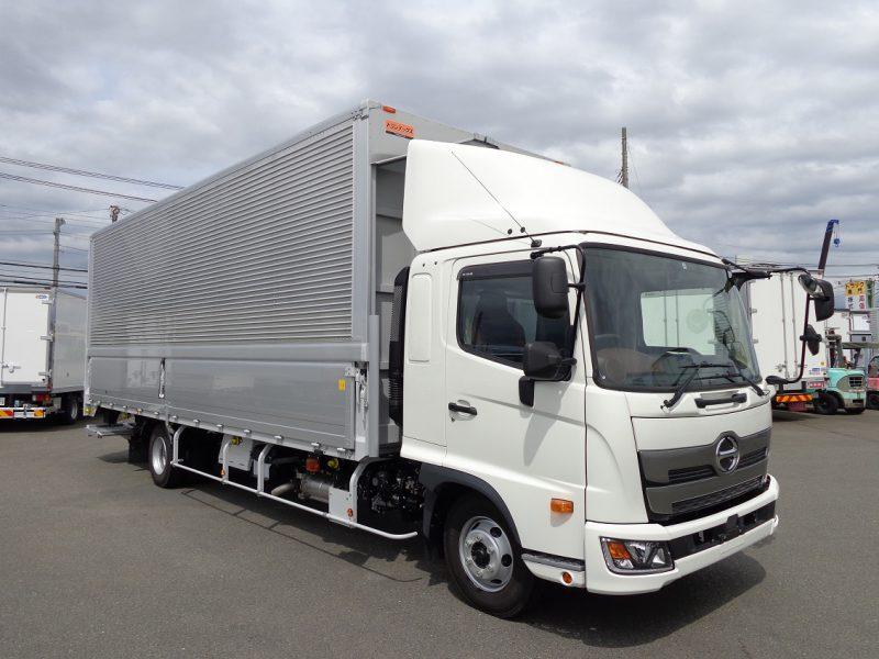 日野 中型トラック ウィングワイドエアサス格納PG付(7.25m) 画像