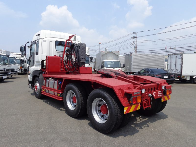 いすゞ 大型トラック トラクタハイルーフ(16t)PTOポンプ付ダンプ用 画像