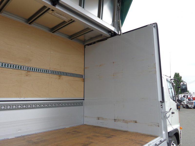 日野 中型トラック ウィング格納PG付(240ps) 画像