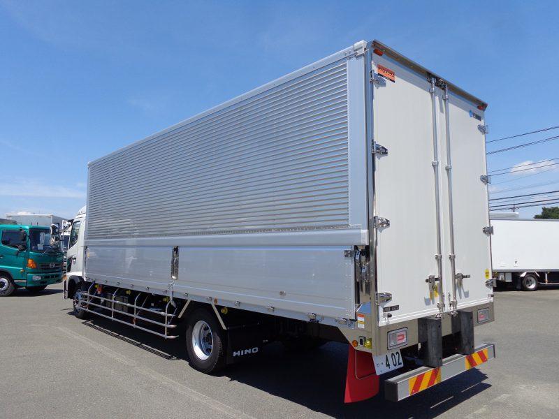 日野 大型トラック ウィングワイドエアサス(6.9t) 画像