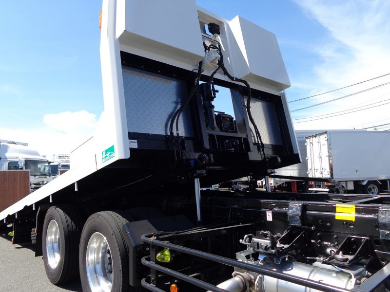 日野 大型トラック 4段クレーン付セフティー(8.4t)6.4m 画像