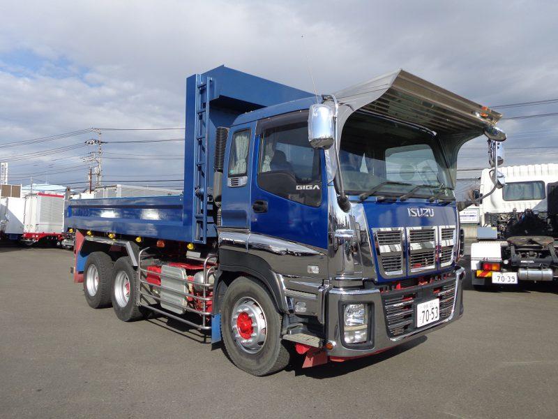 いすゞ 大型トラック ダンプ(土砂)5.3m 画像