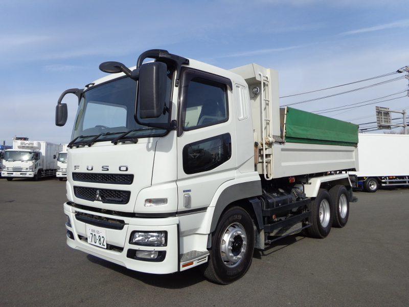 三菱 大型トラック ダンプ(土砂)5.1m 画像