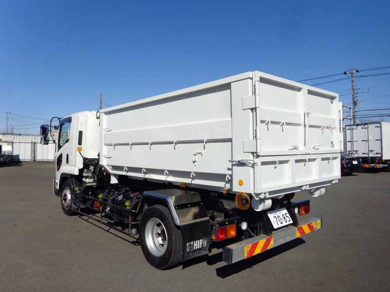 いすゞ 大型トラック アームロール(7.5t)ヒアブ 画像