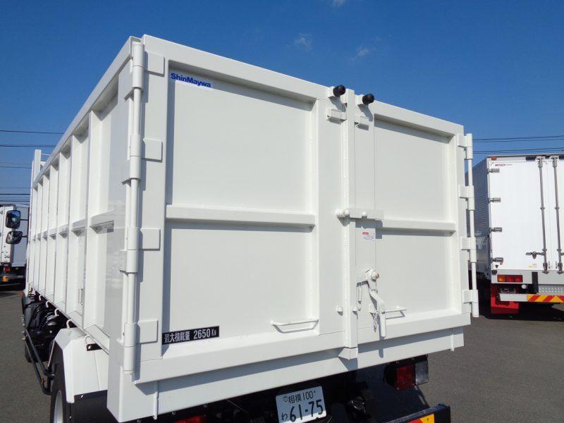 日野 中型トラック 深ダンプ観音開き 画像