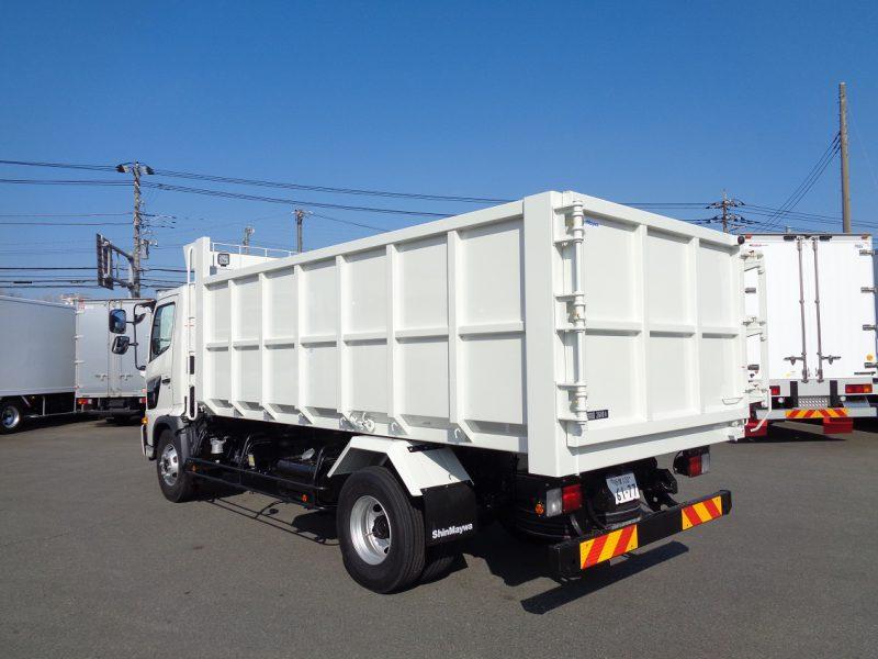 日野 中型トラック 深ダンプ4.6m(方開き) 画像