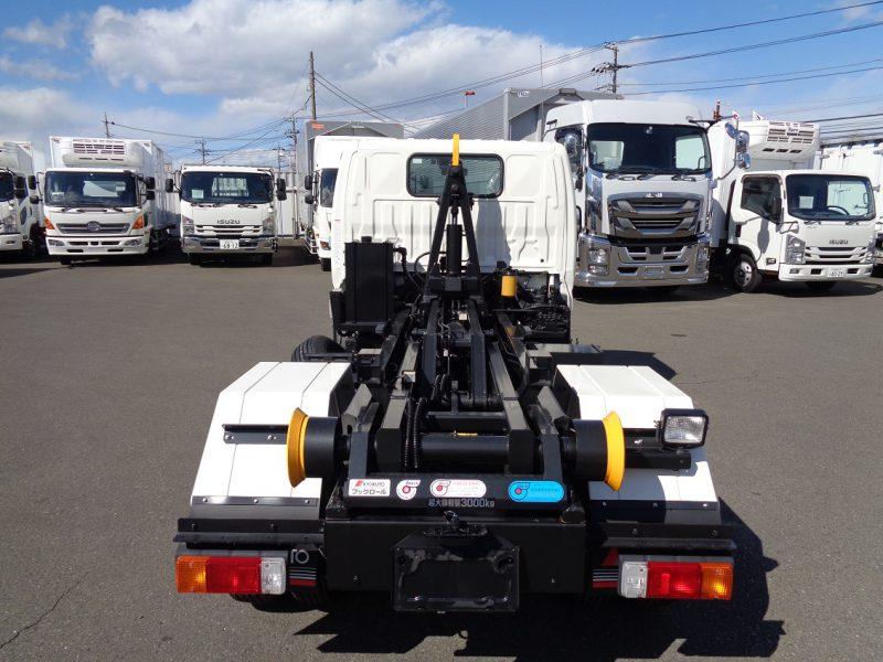 日野 小型トラック フックロール(3t4ナンバー) 画像