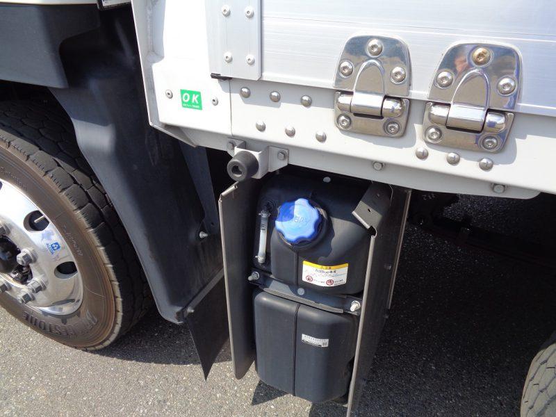 いすゞ 大型トラック ウィングエアサスハイルーフ融雪仕様(ステンレス) 画像