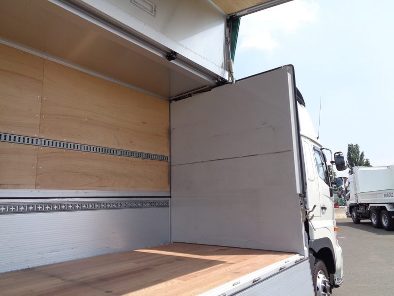 日野 大型トラック ウィングエアサスハイルーフ(寒冷地仕様) 画像