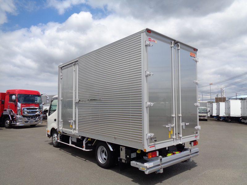 日野 小型トラック ドライバン格納PG付(ワイド・ロング)内高2.37 画像
