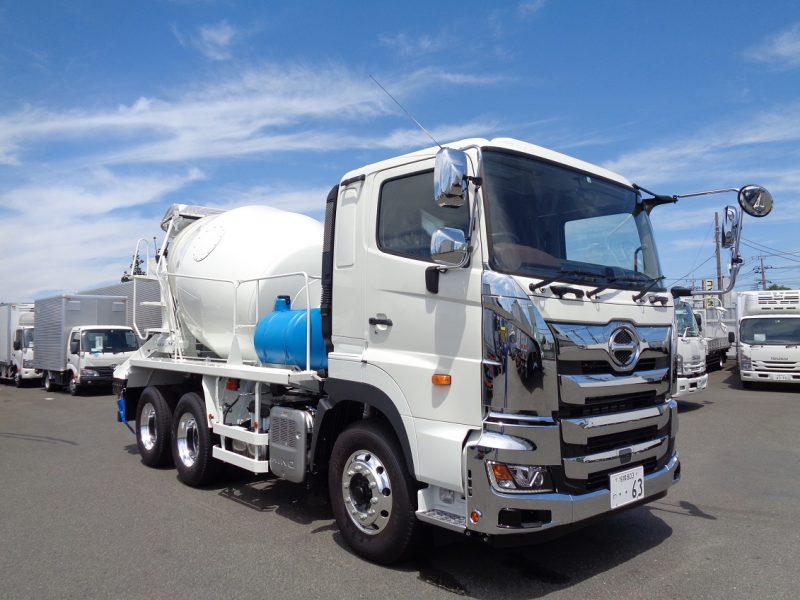 日野 大型トラック ミキサー4.4m3(カヤバ) 画像