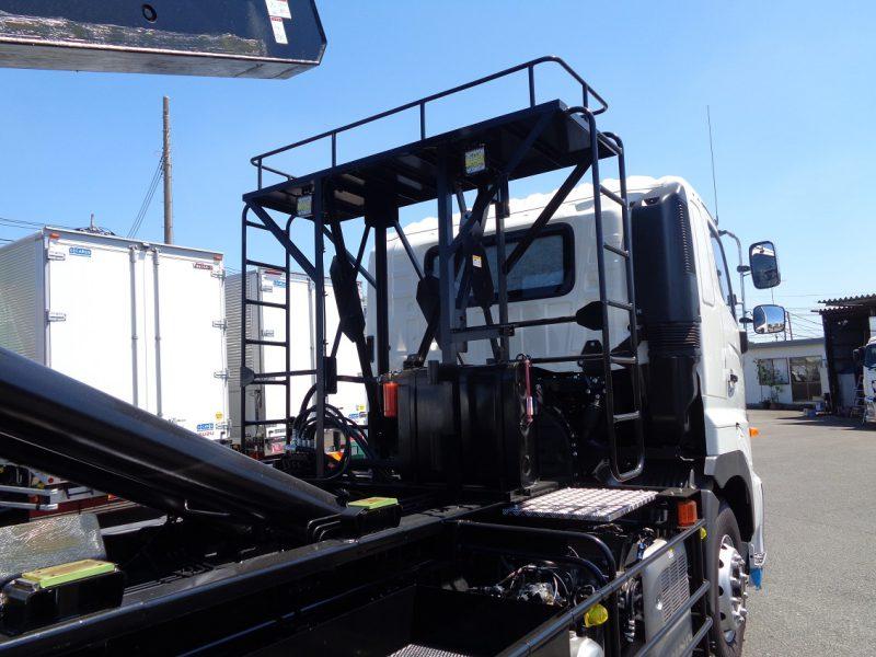 日野 大型トラック フックロール 画像