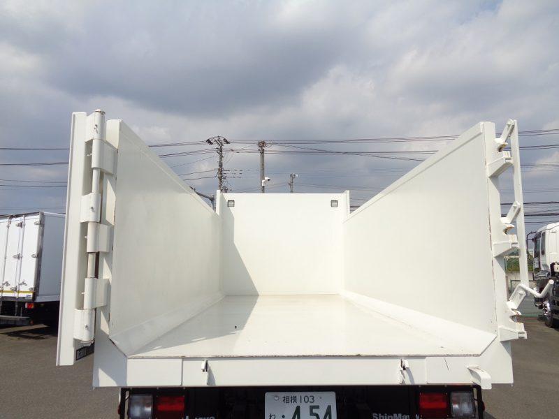 日野 大型トラック 深ダンプ(6.8t) 画像