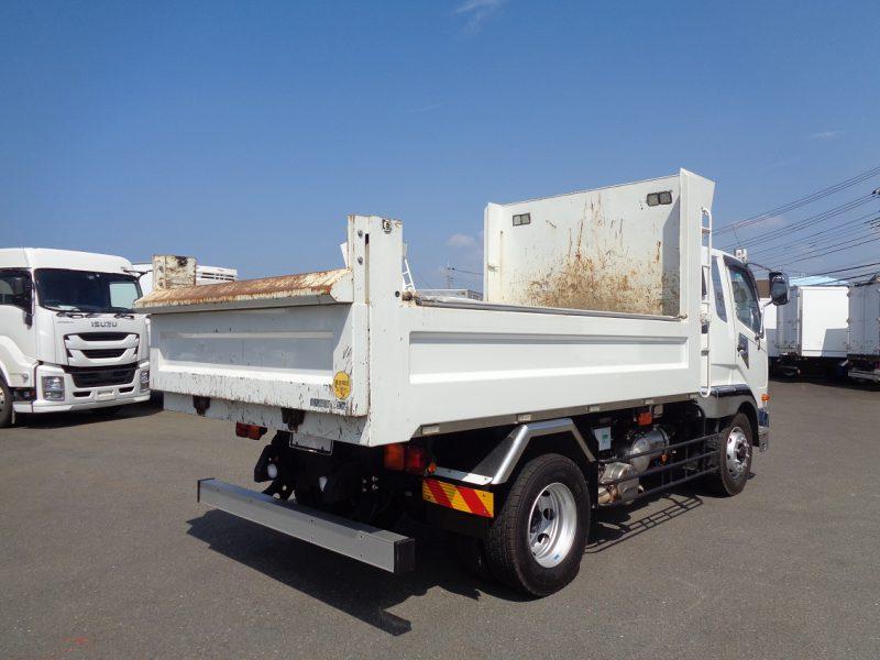 三菱 大型トラック 増tダンプ土砂(7.0t)3.6m 画像