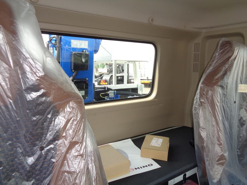 日野 大型トラック 4段クレーン付セフティー(6.3t)5.9m 画像