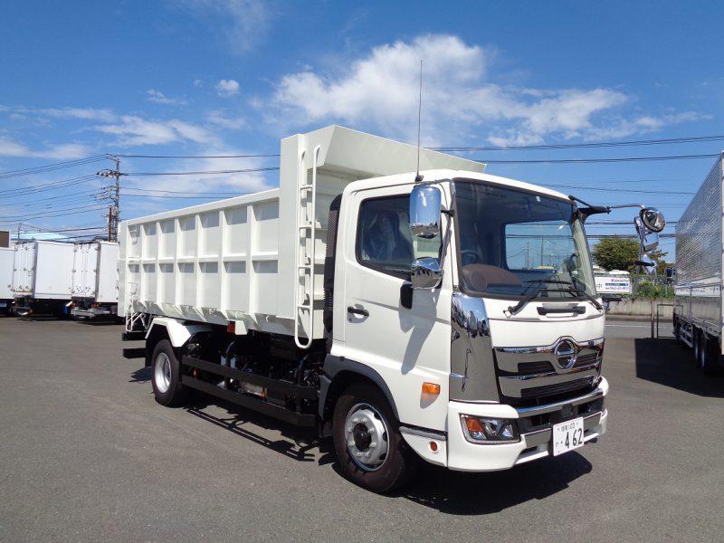 日野 大型トラック 深ダンプ(6.7t)4.85m観音開き 画像