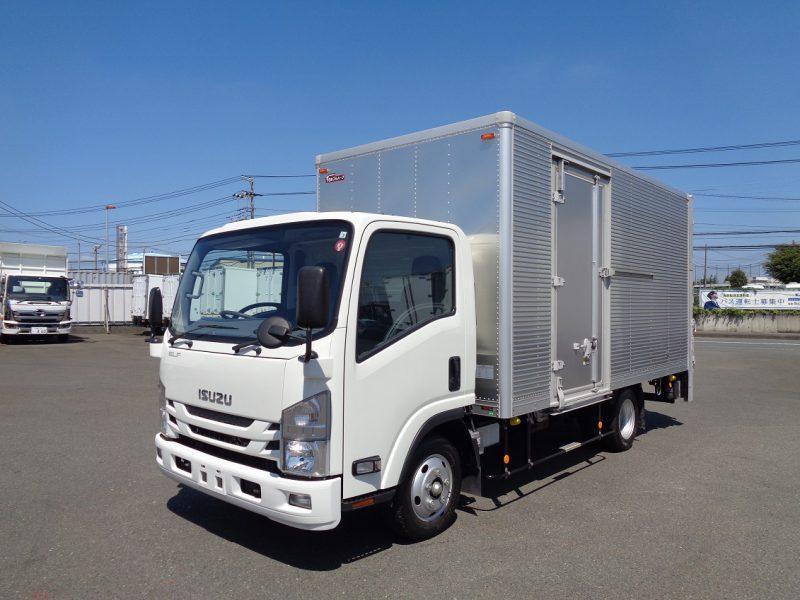 いすゞ 小型トラック ドライバン垂直PG付(ワイド・ロング) 画像