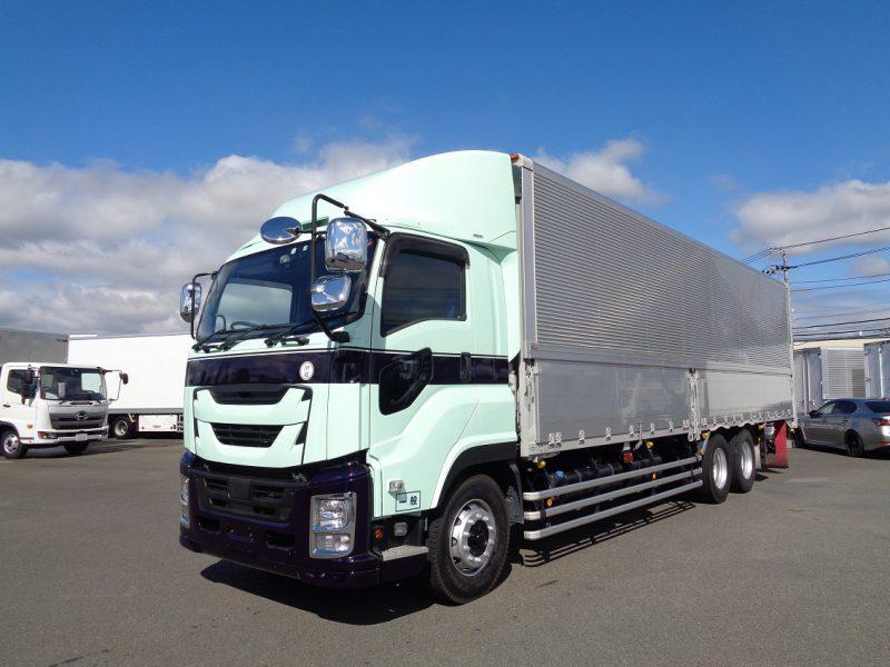 いすゞ 大型トラック ウィングエアサス(3軸1デフ)デフロック付 画像