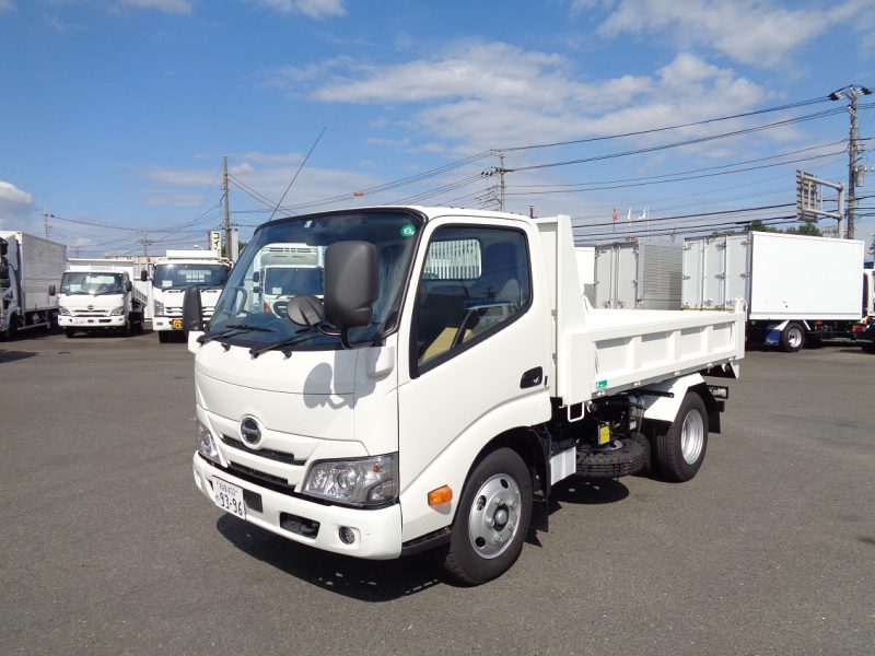 日野 小型トラック セフティーダンプ(3t4ナンバー)花見台 画像