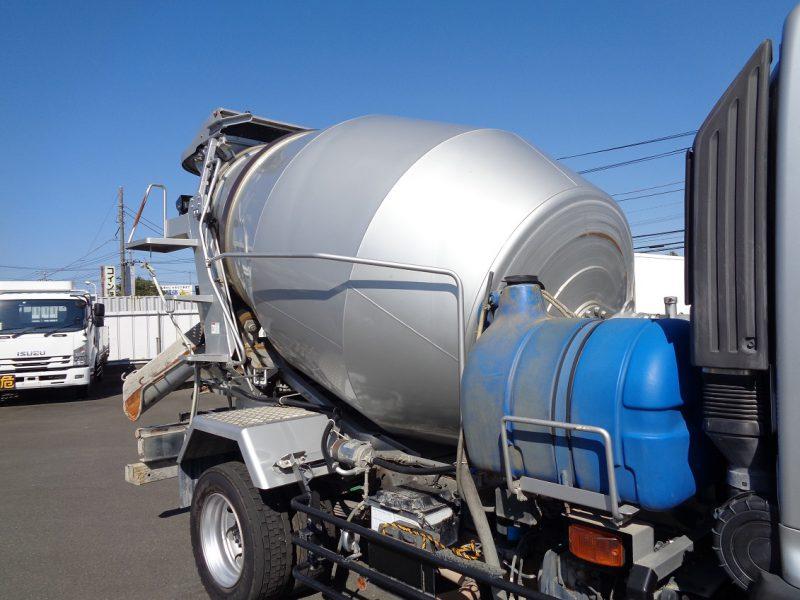 日野 大型トラック ミキサー3.2m3(7.88t)新明和 画像