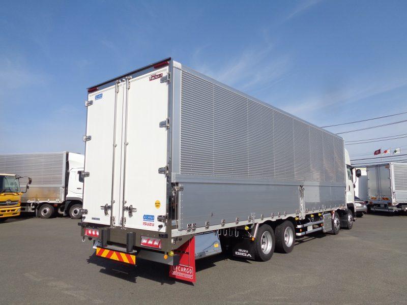 いすゞ 大型トラック ウィングエアサスNEWハイルーフ(融雪仕様) 画像
