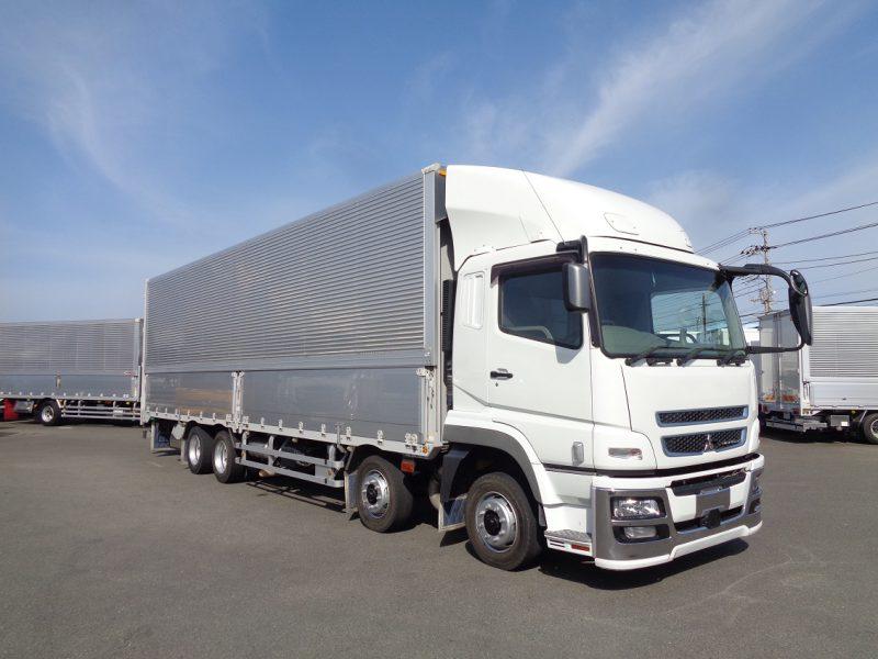 三菱 大型トラック ウィングエアサス 画像
