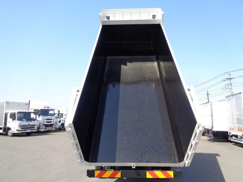 日野 中型トラック 深ダンプ(4.6m)観音開き 画像