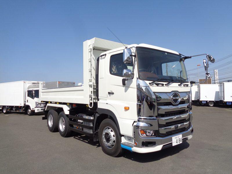 日野 大型トラック ダンプ土砂(5.3m) 画像