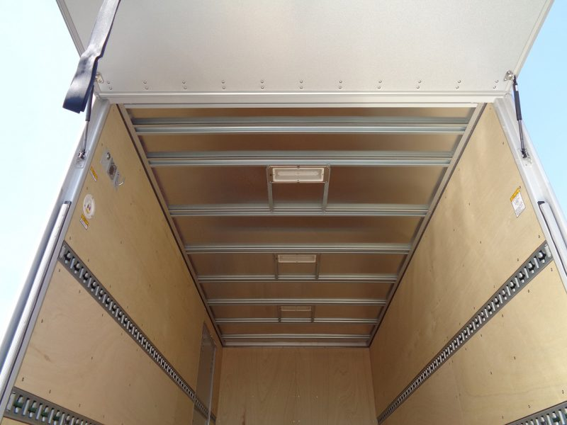 日野 小型トラック ドライバンはね上げPG付(ワイド・ロング) 画像