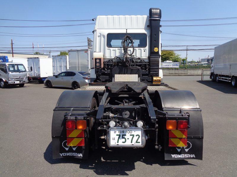 三菱 大型トラック トラクタエアサスハイルーフ11.5t 画像