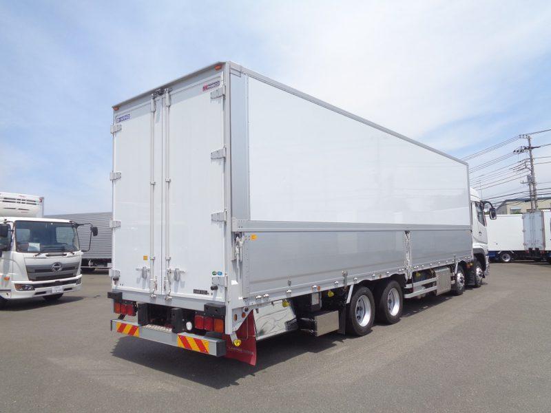 三菱 大型トラック ウィングエアサスハイルーフ 画像