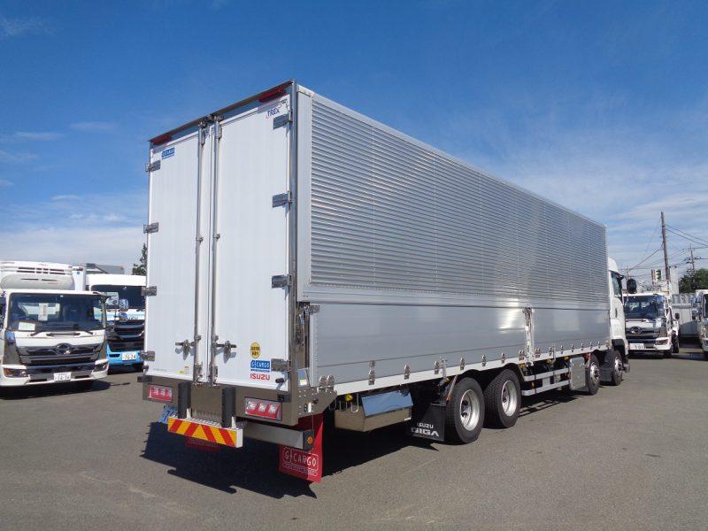 いすゞ 大型トラック ウィングエアサスハイルーフ(融雪仕様) 画像
