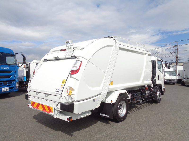日産UD 大型トラック 塵芥車(プレス式)10.2m3 画像