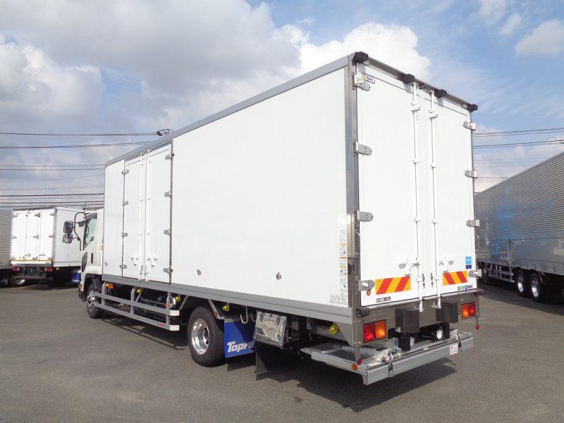 いすゞ 中型トラック 冷凍車エアサス格納PG付(スタンバイ付) 画像