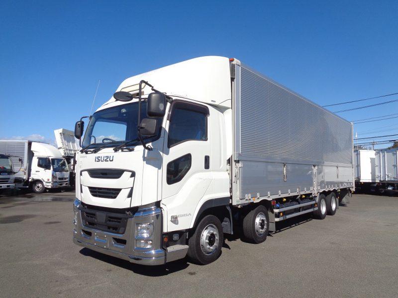 いすゞ 大型トラック ウィングエアサス(センターローラー付) 画像